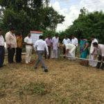 Inauguration of Water Harvesting